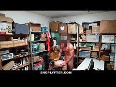 Shoplyfter - hipster teen gets caught between t...