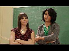 Samantha Rone and Dana Vespoli Try Anal at School