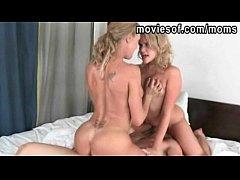 Big tits blonde Brandi Love and Mia Malkova 3so...