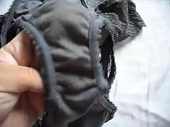 Showing Marya´s dirty panties 005