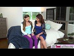 Skye West and Eva Long hot lesbian sex