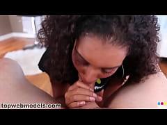 Leah Luxxx Hot Babe Swallows jizz