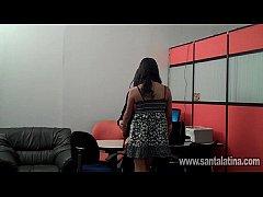 Secretarias capturadas por camara de video