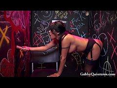 Horny Latina Gabby Quinteros at the Gloryhole!