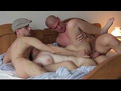 MMF Threesome with beautiful chubby girl
