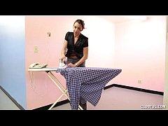 Hot Housewife Home Handjob