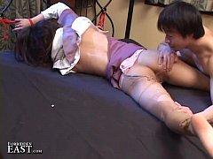 Uncensored Japanese Erotic Fetish Sex - Pantyho...