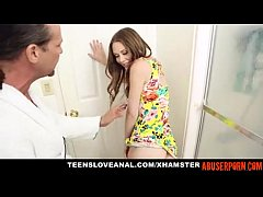 Horny Step-daughter Ass-fucked by Her Step-dad:...