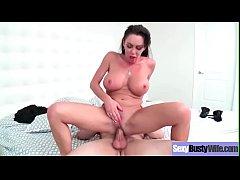 Hot Slut Wife (Dayton Rains) With Bigtits Love Intercorse On Cam vid-10