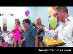 Samantha Saint Orgy