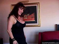 Beautiful busty mature latina gives an amazing ...