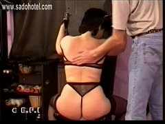 master plays with slaves ass