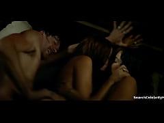 Jessica Parker Kennedy Clara Paget in Black Sai...