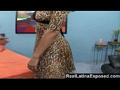 RealLatinaExposed - Kinky hubby watches wife ge...