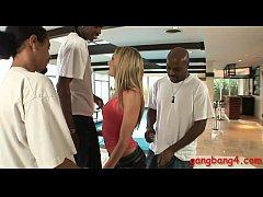 Nasty teen Amy Brooke dped by black guys
