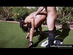 Cheating Latina Gabby Quinteros Caught Fucking ...