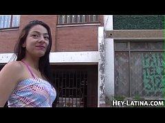 Amateur latina banged