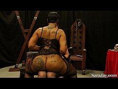 Sara Jay Worships Cherokee D'ass Huge Booty!