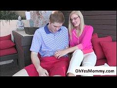 Sugar mom Darryl Hanah se goes for a threesome ...