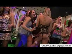Hot juicy girls dancing with strippers
