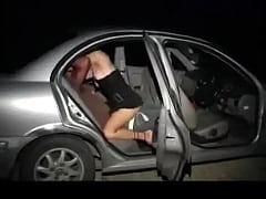 Amateur Fuck In Backseat