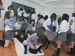 japanese schoolgirls groupsex 1