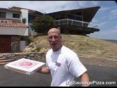 Lisa Lipps big sausage pizza