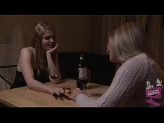 Dia Zerva and Katalin Lesbian Foot Fetish