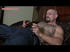 Bi Latino thug tattooed Latino
