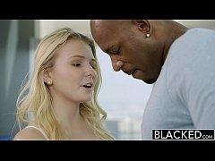 BLACKED Blonde Teen Melissa May Fucks Her Moms ...