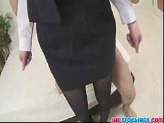Emi Orihara sexy teacher gets creamed pussy