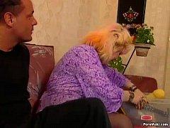 Chubby Granny Enjoys Fisting and Fucknig