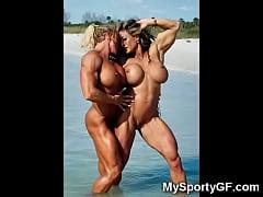 Sexy Muscular Girlfriends!