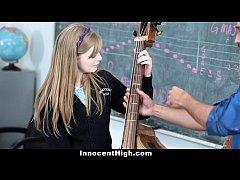 Professor de musica fudendo aluna novinha inocente