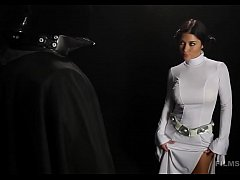 Arriany Calleste HOT Leia Cosplay Striptease