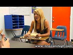 InnocentHigh Bigtits blonde schoolgirl teen Hol...