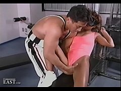 Uncensored Japanese Erotic Fetish Sex - Gym Bondage 17 (Pt 1)
