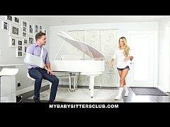MyBabySittersClub - Blonde Teen Babysitter Helps Me Cum
