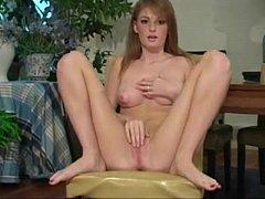 Faye Reagan pantyhose action