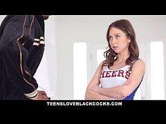 TeensLoveBlackCocks - Cute Cheerleader Gets Tig...