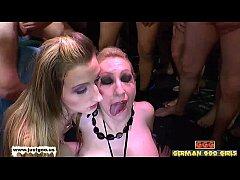 Jara Jay and Slut Anna expert bukkake whores