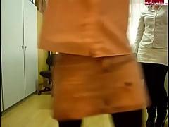 Office pissing girls 2