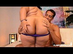 Big Booty Latina Karla Lane gets her ass filled...