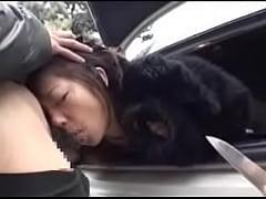 素人の3P・4P,お姉さん,強制フェラ動画