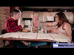 Hot Busty Mommy (Ariella Ferrera) Love Hard Sex In Front Of Camera vid-09