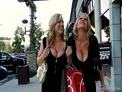 Busty Shopaholic Sluts Are Horny For Cock