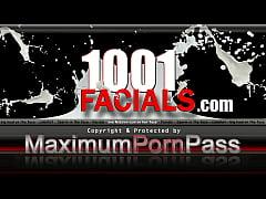 1001-Facials - PBD give hot facial show