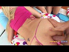 PervCity Teen Shane Dos Santos Watches Sadie Sa...