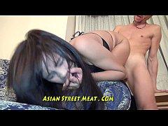 Sperm Splattered On Lovely Asian Face