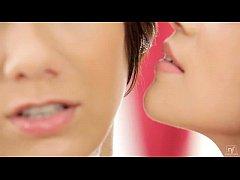 Angellina and Aiko Mai Hot Lesbian Sex with Whi...